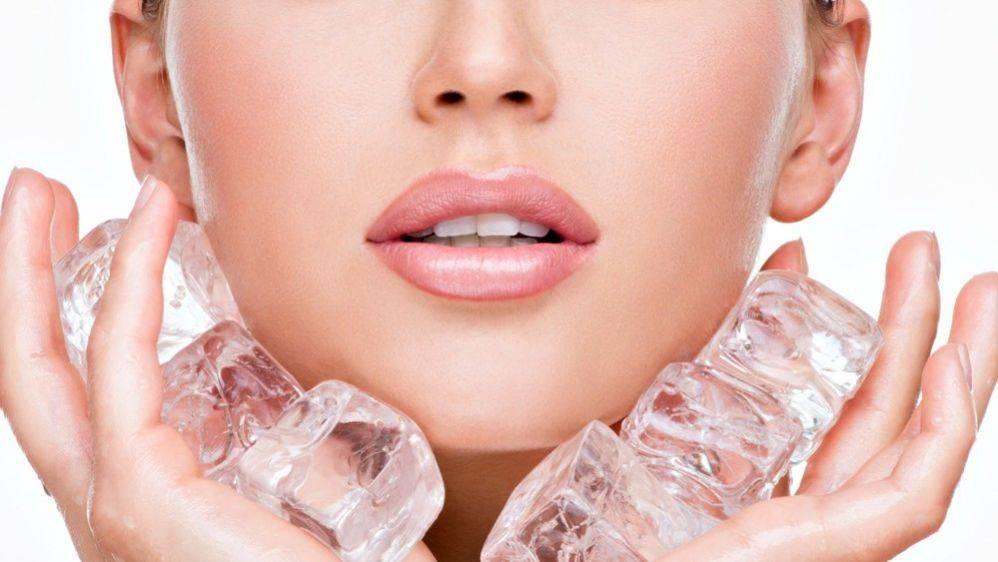 Криомассаж лица — лёд и азот для омоложения