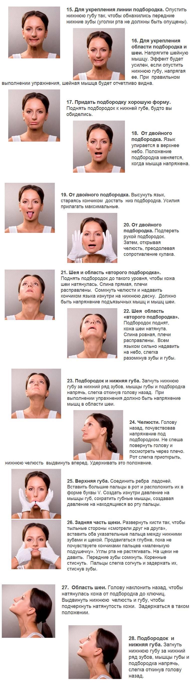 Правильный массаж лица вдомашних условиях: cила прикосновений