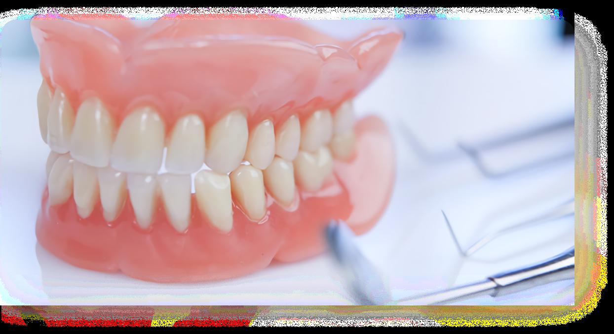 Виды починок съемных пластмассовых протезов