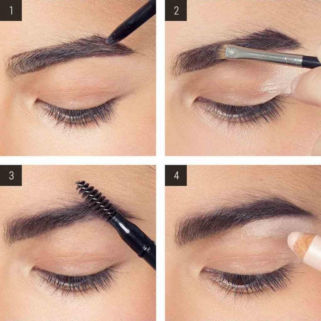 Как правильно красить брови тенями: 10 хитрых приемов от визажиста