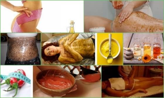 Глиняные обертывания для похудения