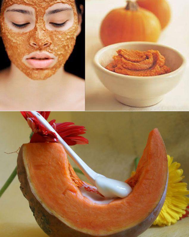 Рецепты из тыквы для кожи лица
