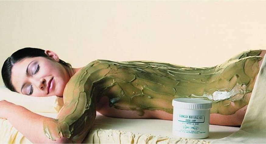 Обёртывание водорослями в домашних условиях