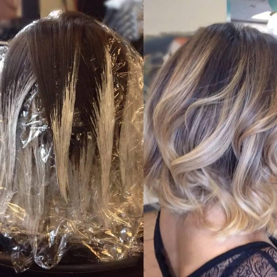 Как сделать шатуш на светлые волосы с видео и фото