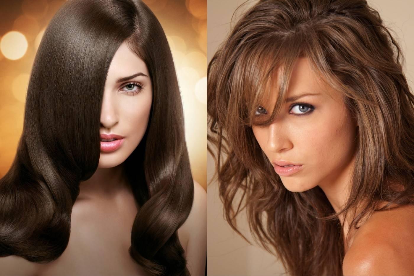 12 оттенков каштанового цвета волос: кому подходит и как выбрать