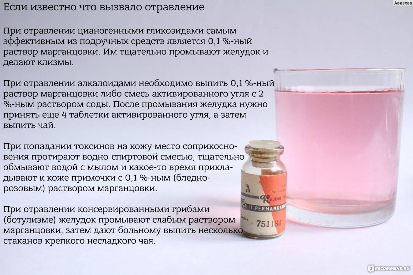 Как применять марганцовку при молочнице