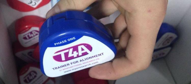 Детский ортодонтический трейнер для зубов т4к