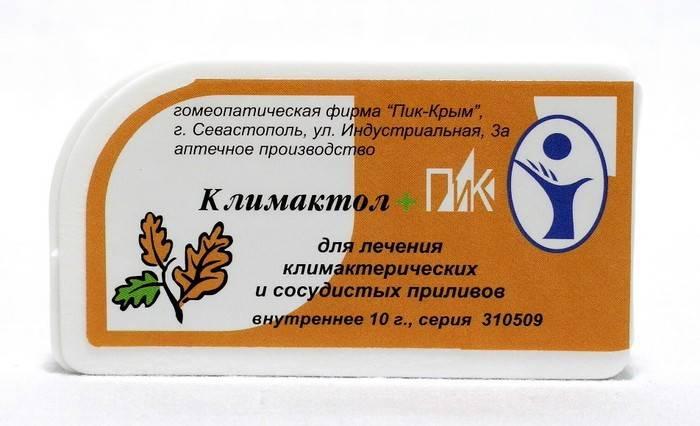 Список препаратов гомеопатии при климаксе