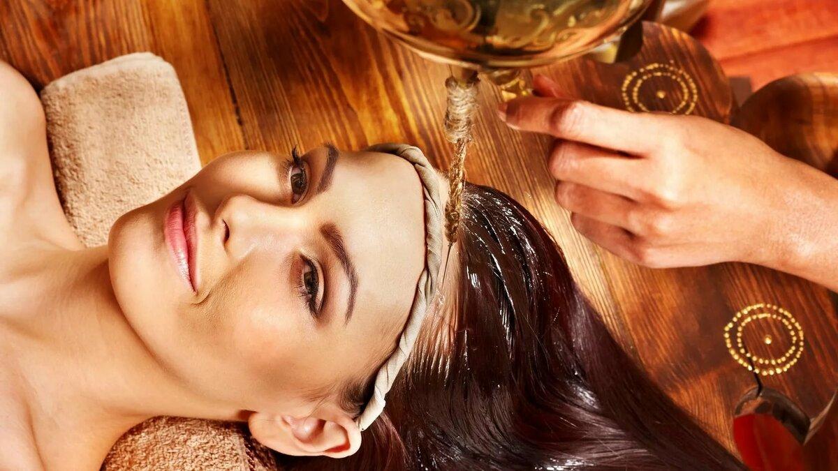 Пилинг головы для роста волос