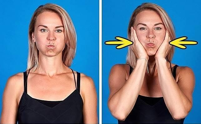 Эффективные упражнения для похудения лица и щек