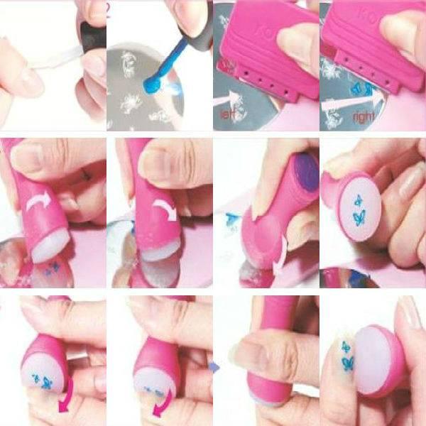 Как пользоваться стемпингом для ногтей