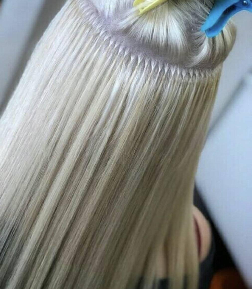 Как наращивают волосы на капсулах? технология капсульного наращивания волос