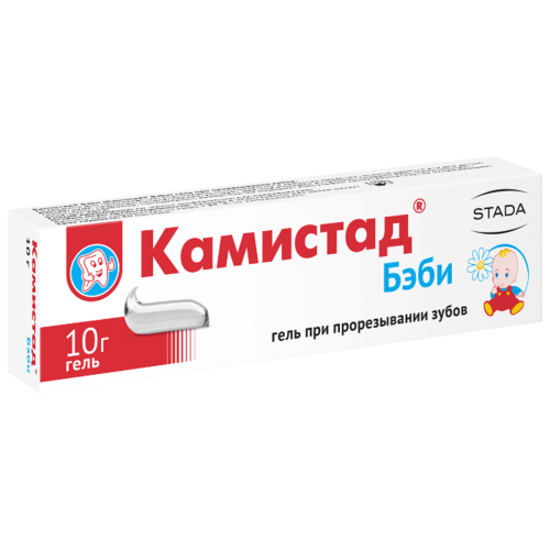 Камистад бэби – препарат для облегчения состояния детей при прорезывании зубов