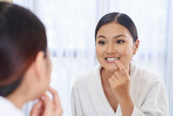 Белое пятно на внутренней стороне щеки болит – профимед