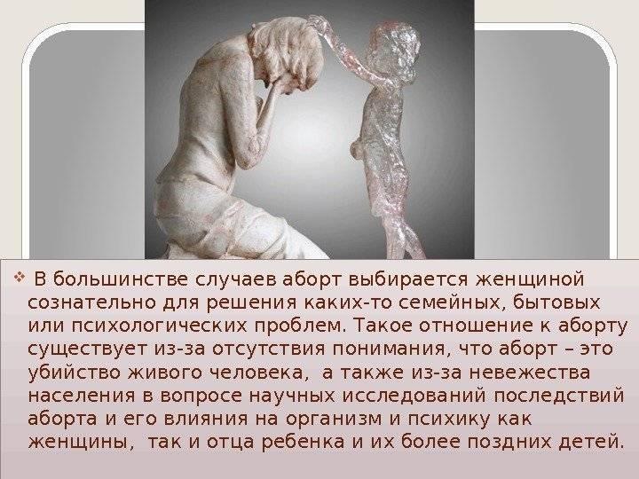 Виды абортов
