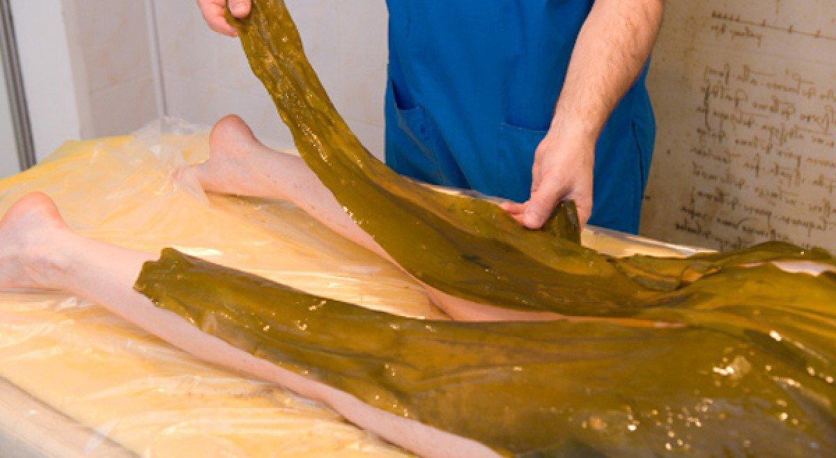 Как делать водорослевые обертывания
