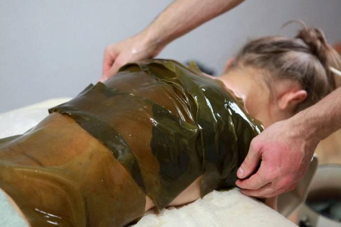 Водорослевое обертывание: эффективная талассотерапия от целлюлита и для похудения