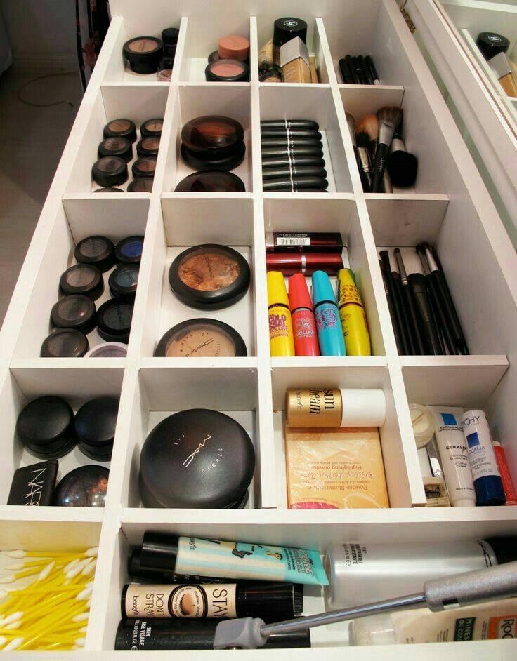 Хранение и организация косметики дома: правила и ошибки