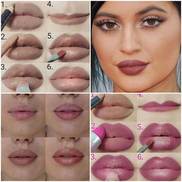 Как зрительно увеличить губы с помощью макияжа: советы и рекомендации