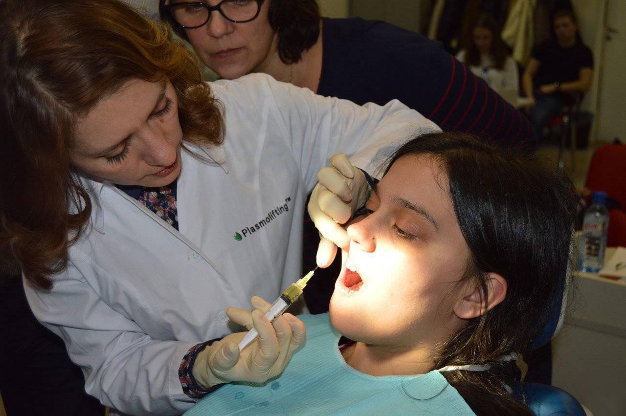 Плазмолифтинг в стоматологии – новый метод лечения пародонта