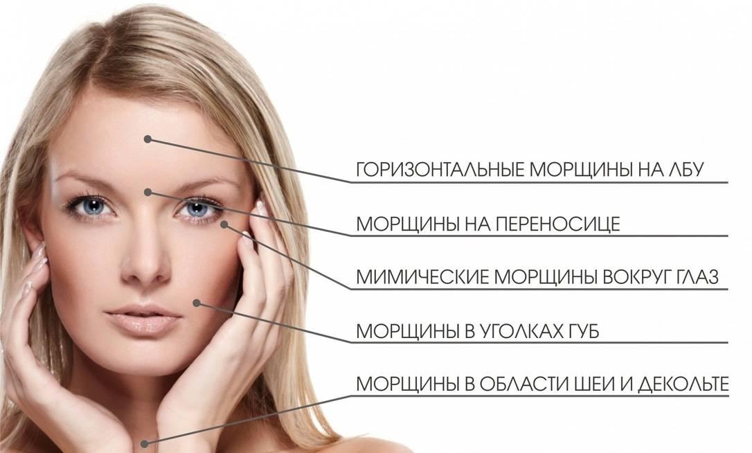 Удаление всех морщин на лице