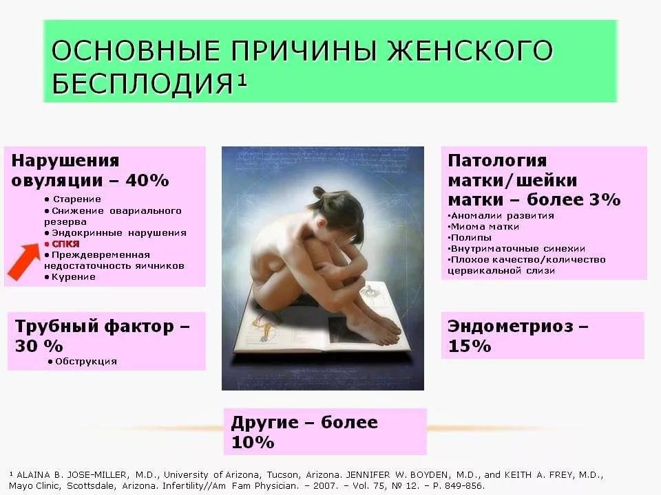 Бесплодие у женщин — современные методики лечения патологии