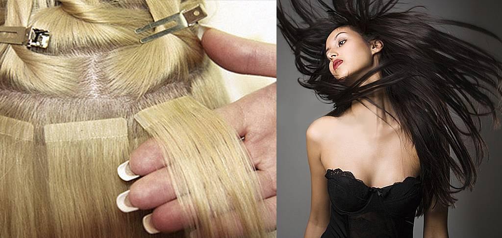 Наращивание волос для создания объёма