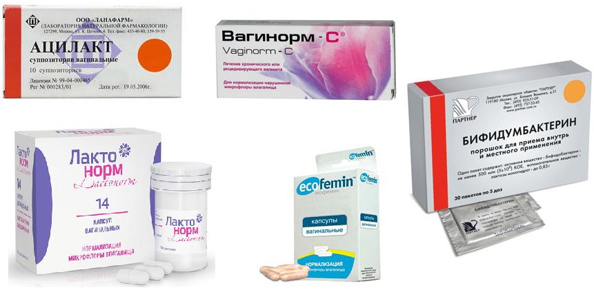 Свечи для восстановление микрофлоры после лечения молочницы (кандидоза)