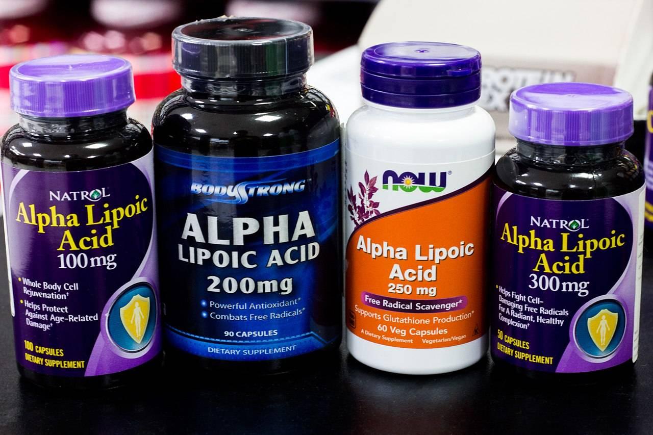 Альфа липоевая кислота для кожи лица