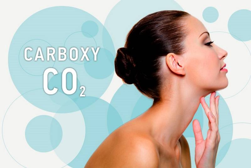 Омоложение лица тремя способами карбокситерапии