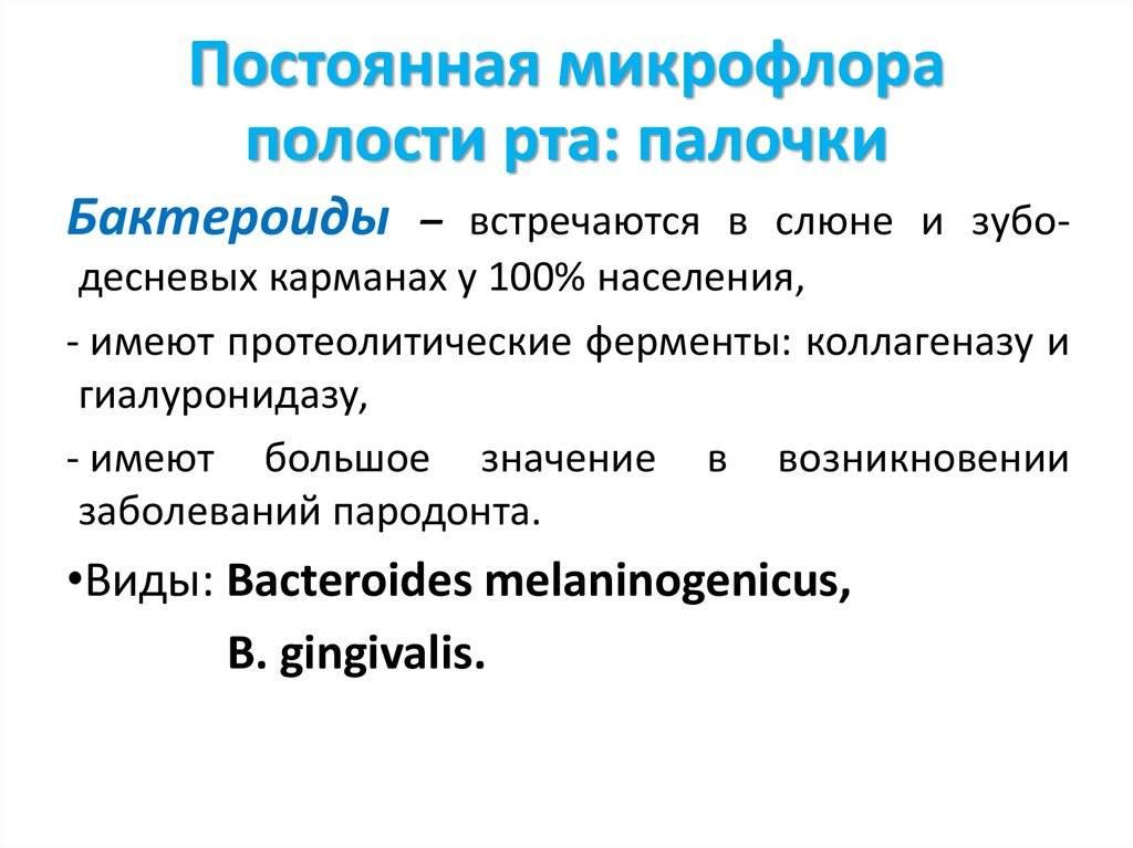 Условно патогенная микрофлора полости рта. микрофлора ротовой полости: неочевидные проблемы и очевидные решения