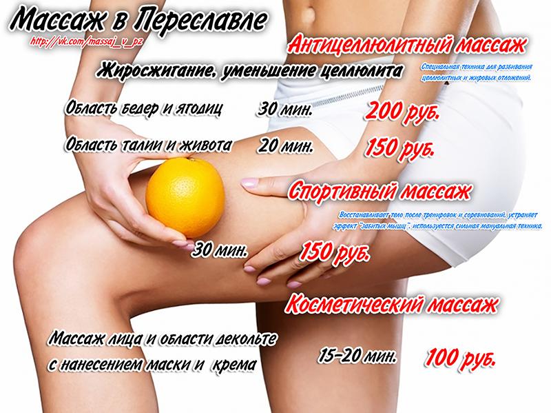 Основные виды антицеллюлитного массажа и мезотерапия