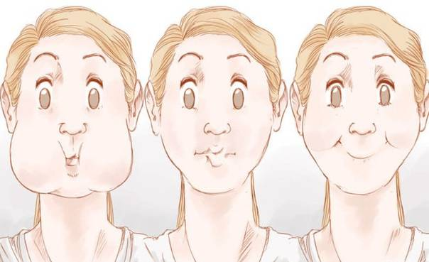 Как убрать двойной подбородок и щеки