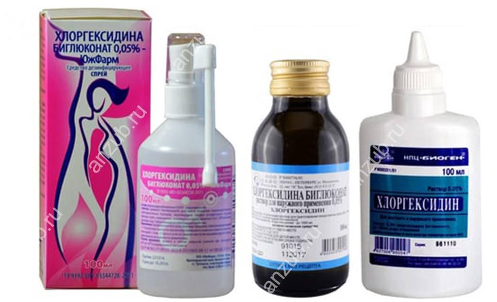Мирамистин или хлоргексидин в урологии