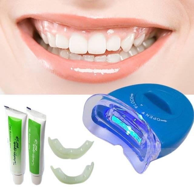 Система отбеливания зубов white light: инструкция