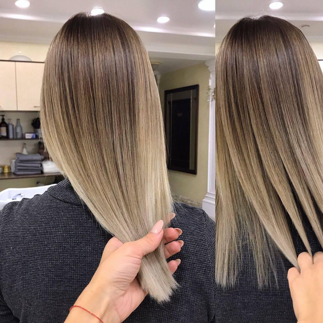 Шатуш на темные волосы — хит и тренд на все времена!