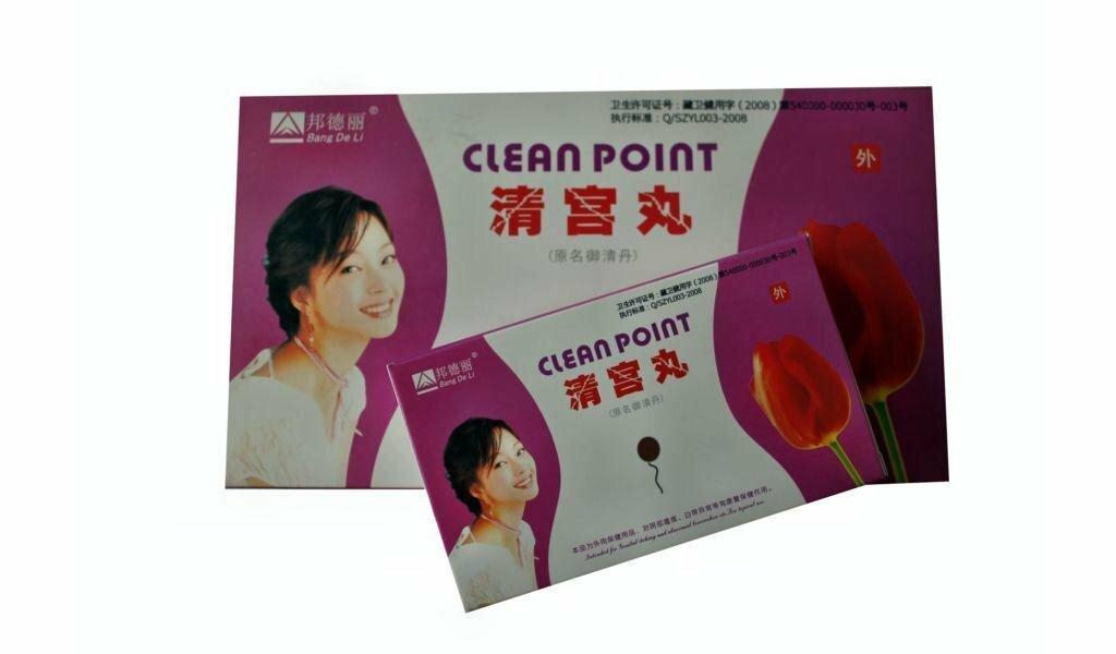 Обзор лечебных тампонов clean point и beautiful life