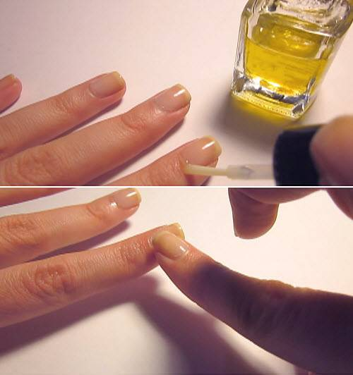 Эфирные масла для ногтей в домашних условиях