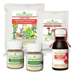 Лучшие рецепты применения трав и народных средств для лечения кисты молочной железы