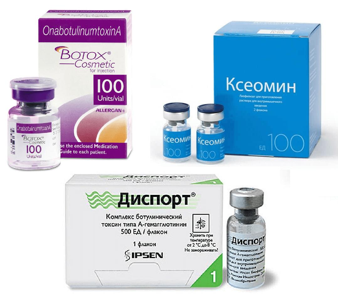 Ботокс или диспорт — описание препаратов