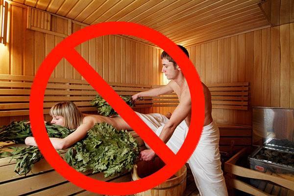 Можно ли ходить в баню при месячных?