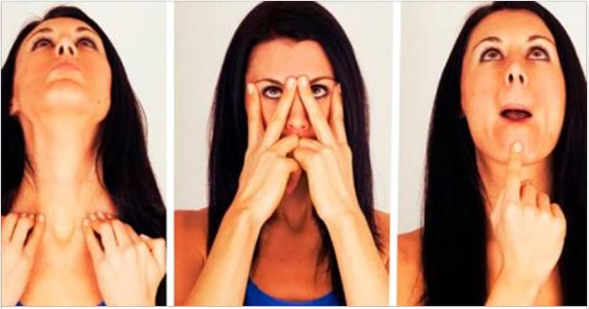 Возвратите лицу красивый овал: 12 упражнений против обвисших щёк