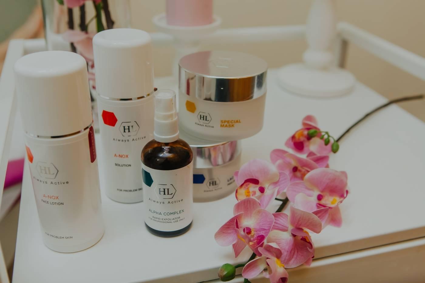Пилинги холи ленд (holy land cosmetics): ассортимент профессиональных средств для домашнего применения
