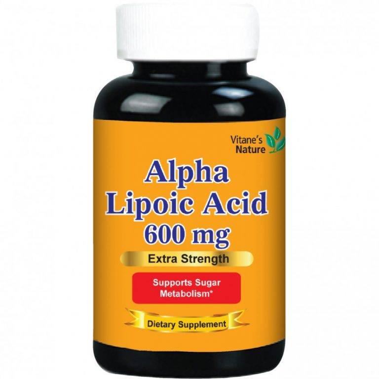 Как альфа липоевая кислота помогает для омоложения кожи лица?