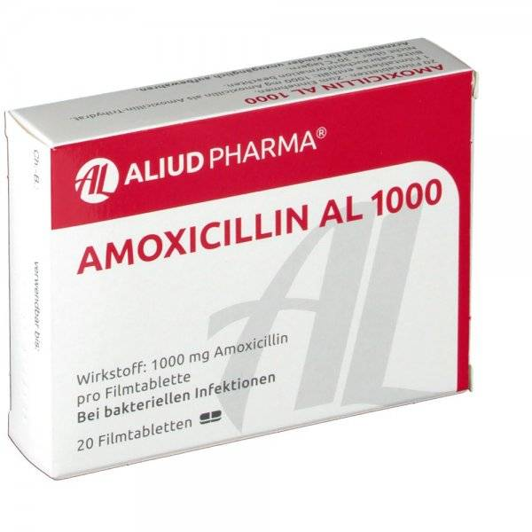 От чего помогает амоксициллин в таблетках?
