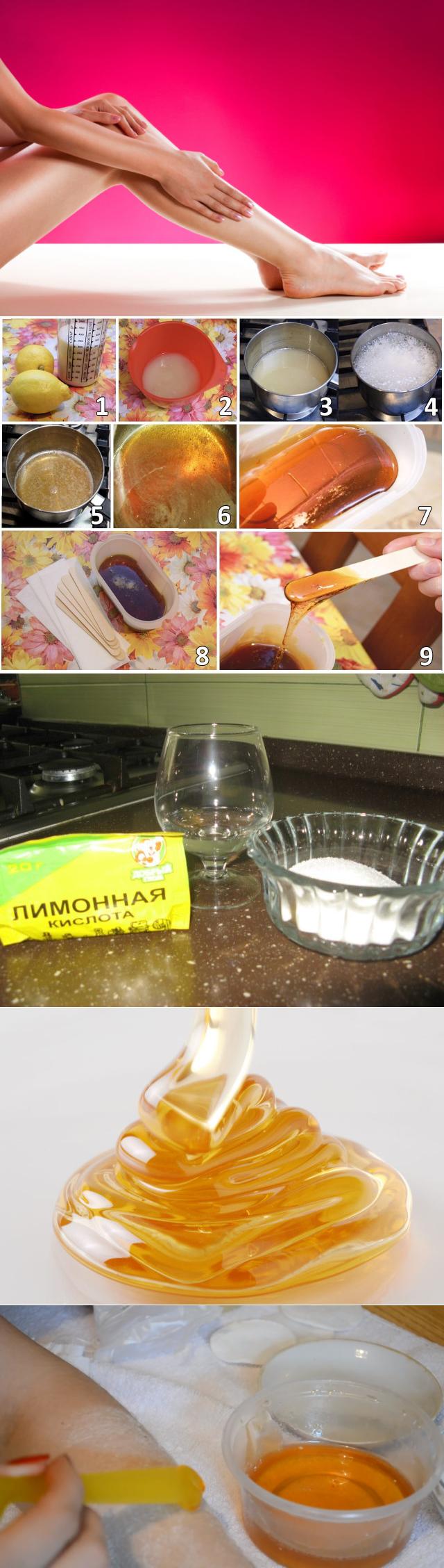 Как делать шугаринг в домашних условиях: инструкция, рецепты пасты