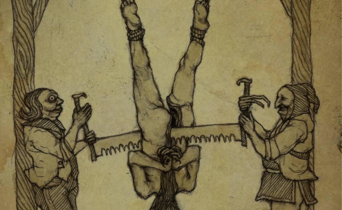 Пытки на руси: орудия, исторические факты, фото