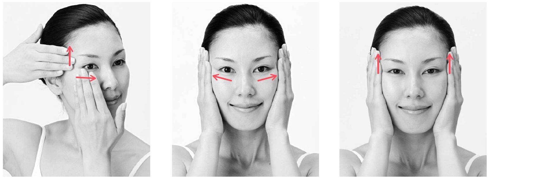 Массаж лица от морщин в домашних условиях поэтапно: лимфодренажный, вакуумный, буккальный, для подтяжки овала, скульптурирующий, подтягивающий