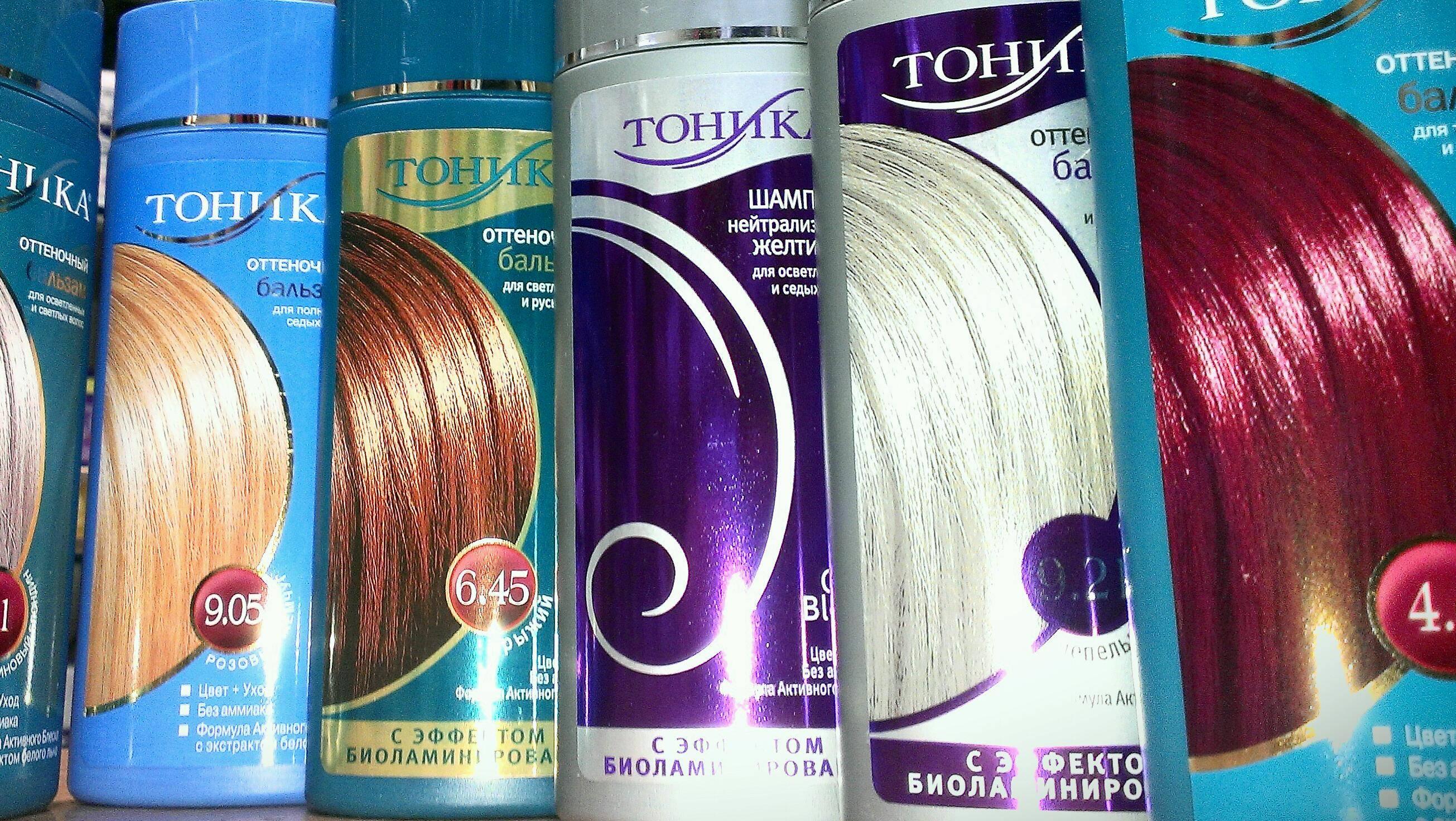 Обзор лучших оттеночных шампуней для волос