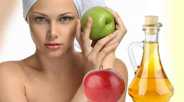 Яблочный уксус на страже чистоты кожи лица